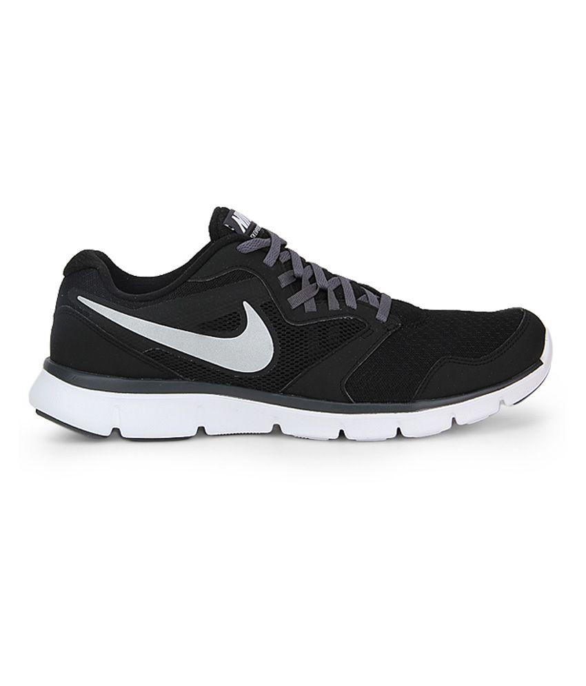 design di qualità stili di moda molto conveniente Nike Flex Experience Black Running Shoes