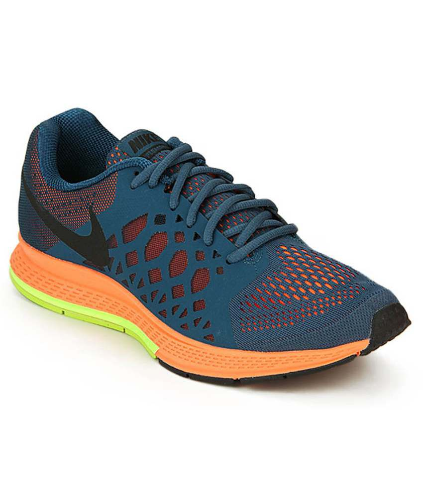 0f8673b76d14 Nike Zoom Pegasus 31 Blue Orange Running Shoes - Buy Nike Zoom Pegasus 31  Blue Orange Running Shoes Online at Best Prices in India on Snapdeal