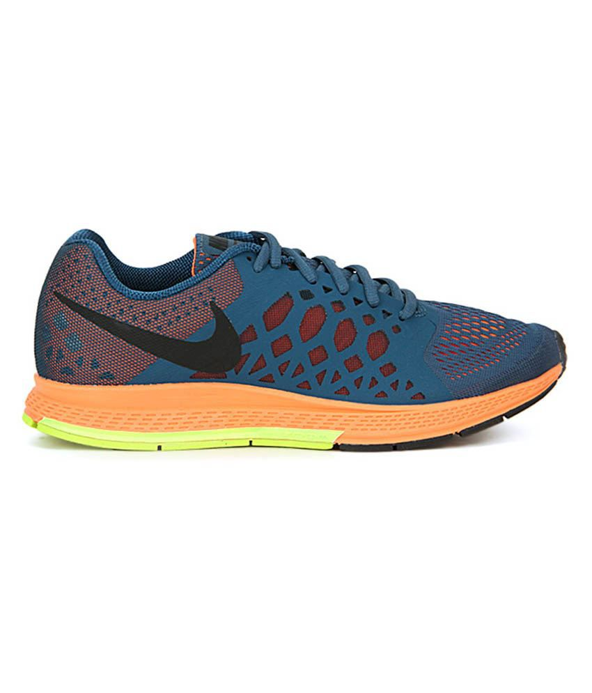 super popular 3e231 49529 ... Nike Zoom Pegasus 31 Blue Orange Running Shoes ...