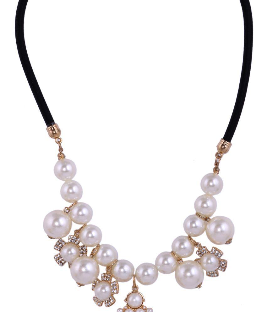 Sp Jewellery Multicolor Style Diva Contemporary Designer Necklaceset