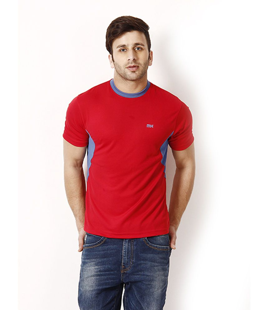 Moxi Attractive Red T-shirt