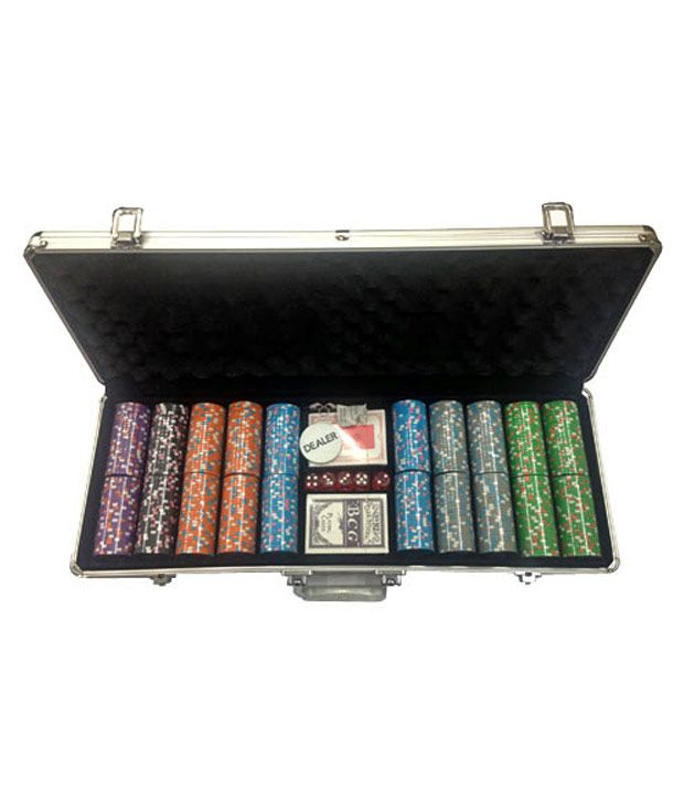 Bluffando Solid Poker Chips Set 500