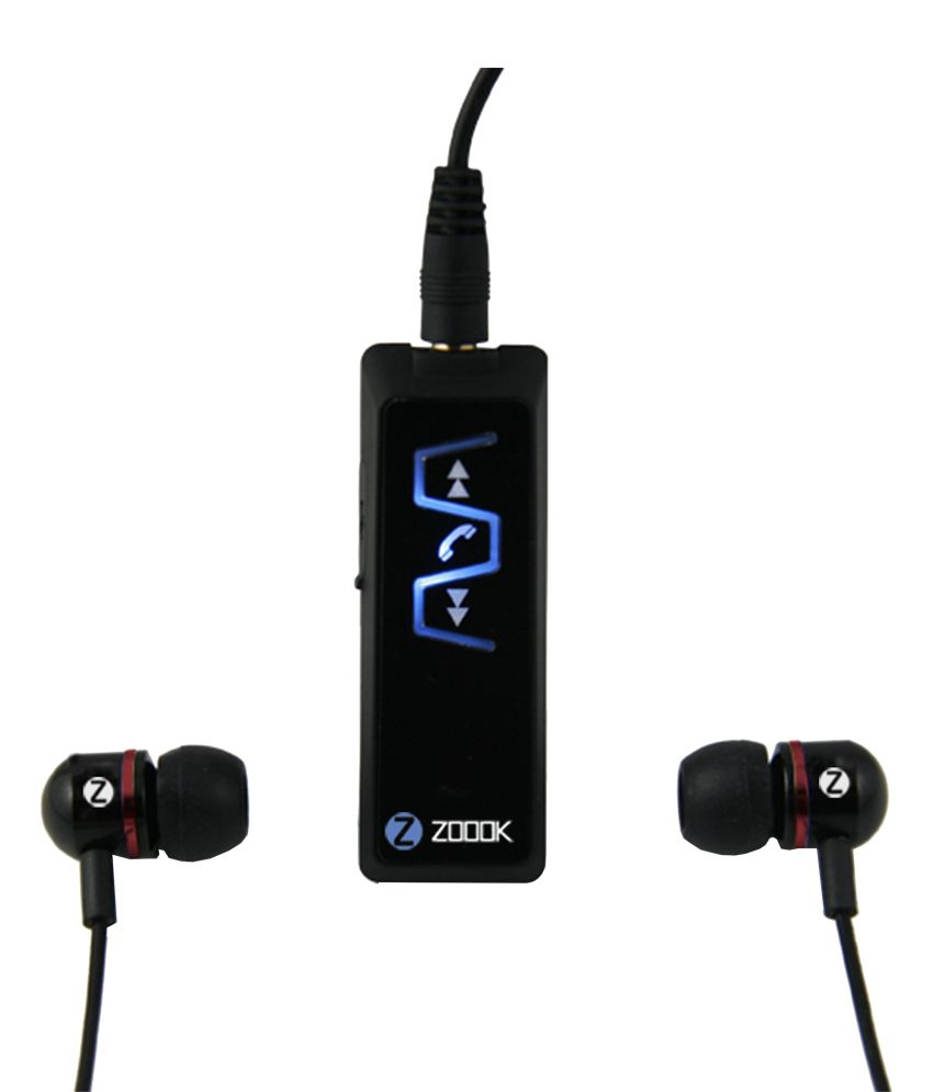 07800a86616 Buy ZOOOK ZB-BTS51 Stereo Bluetooth Music Receiver and Bluetooth Headset  Online at Best Price in India - Snapdeal