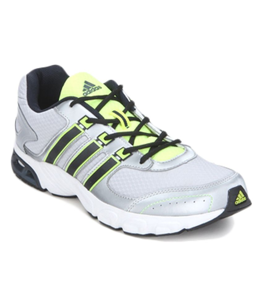 Adidas Silver Sport Shoes