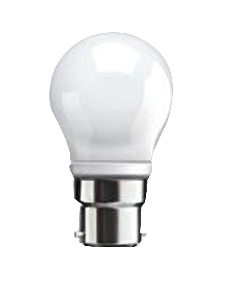 Syska White Glass 3 Watt Led Bulb