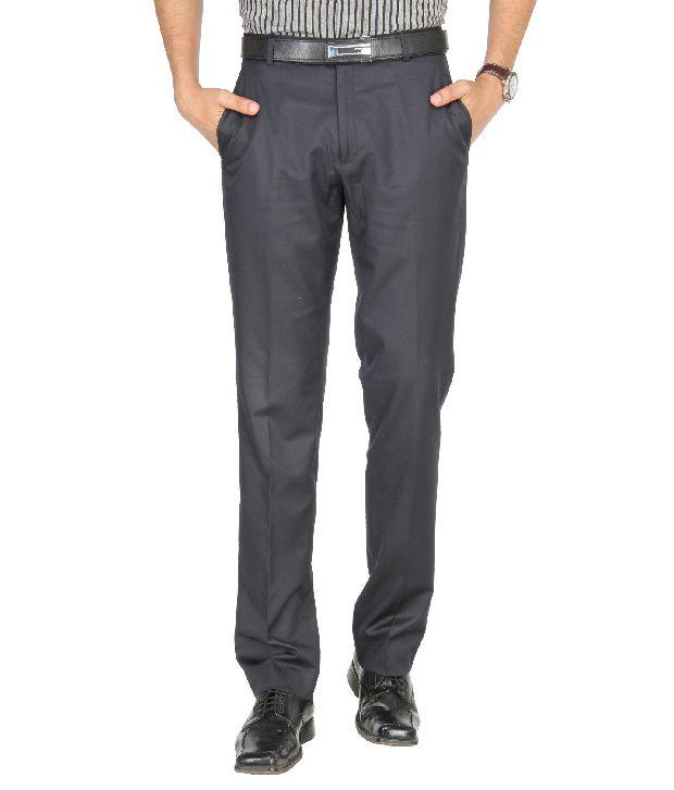 Jadeblue Gray Formal Slim Fit Shirt