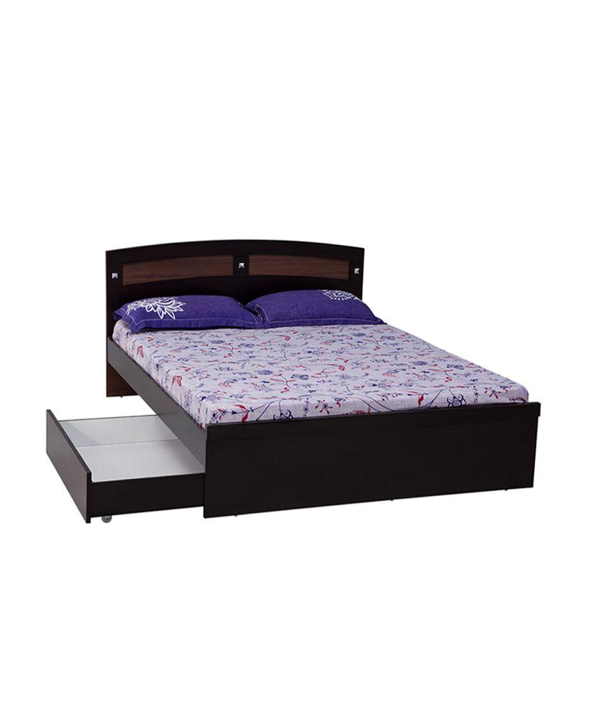 Nilkamal omni bed drawer exclusive buy nilkamal omni for Exclusive beds