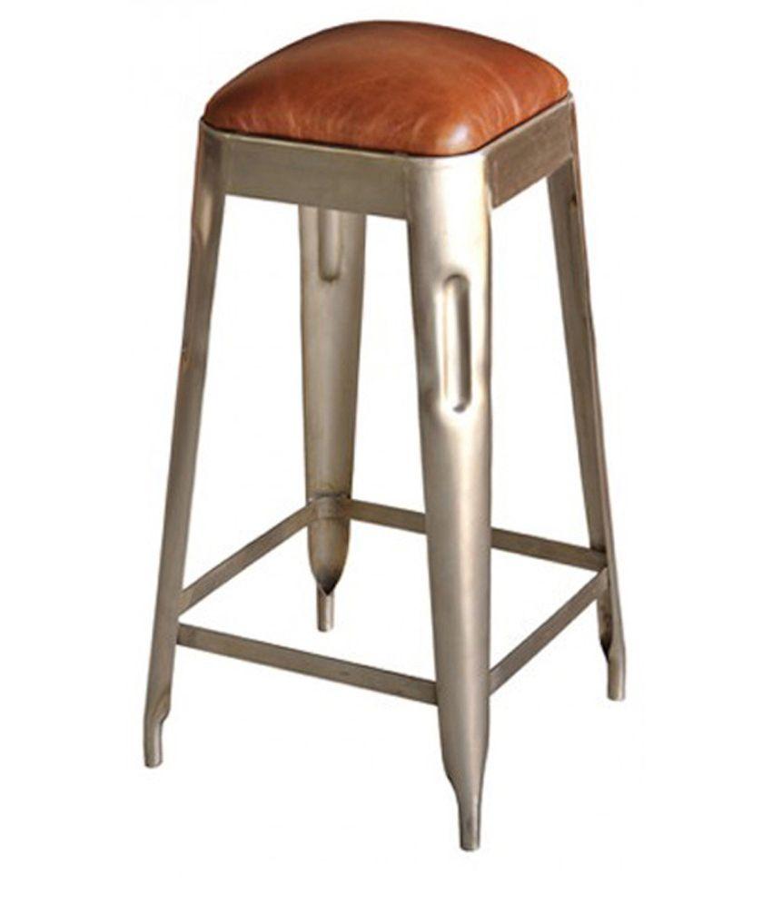 kraftorium illinois bar stool in black best price in india
