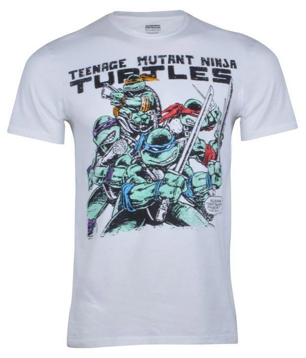 Tmnt Half Sleeve Military Green Mel Mens T-shirt