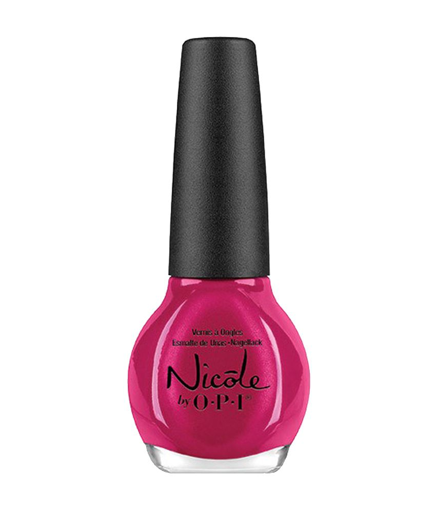 Nicole By Opi I Have Got The Power Nail Lacquer