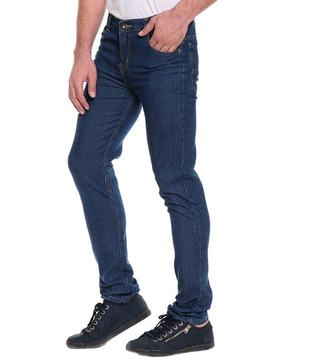 2d18be5012 Akaas Blue Slim Jeans With Black Shirt - Buy Akaas Blue Slim Jeans ...