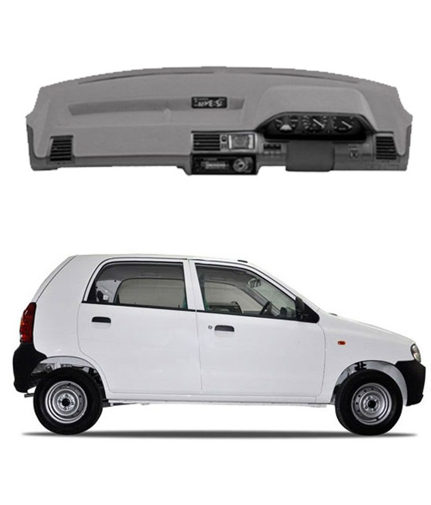 Carmate dashboard cover for alto grey buy carmate for Alto car decoration
