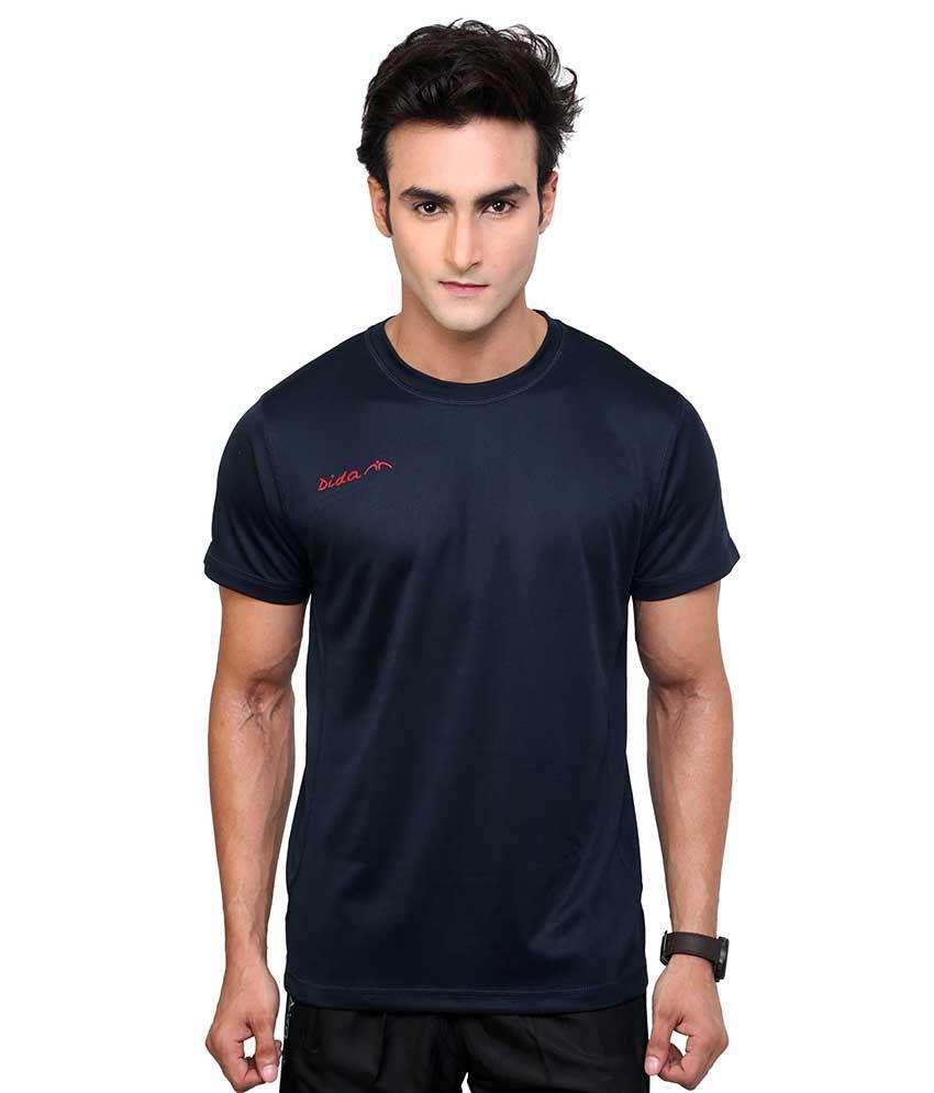 Dida  Navy Round T-shirt