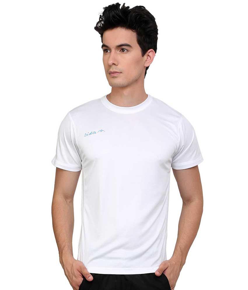 Dida  White Round T-shirt