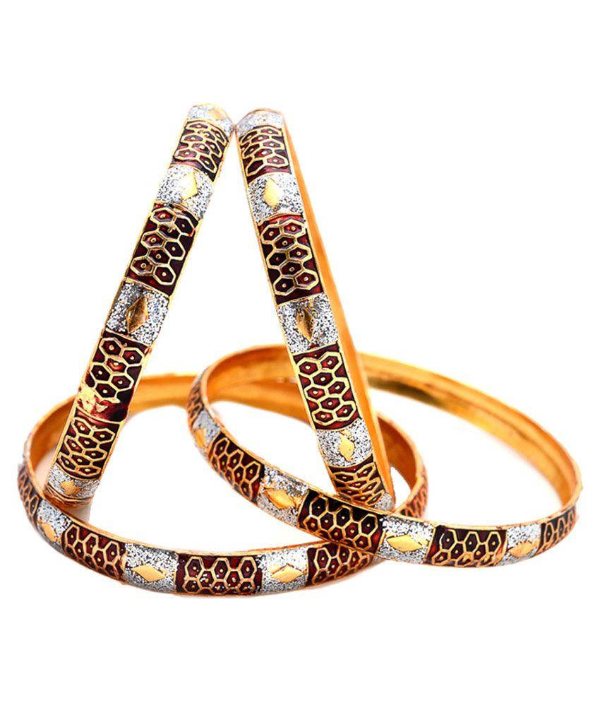 02acfccdaed65 Sagun Art & Jewellers Designer Meena Bangles