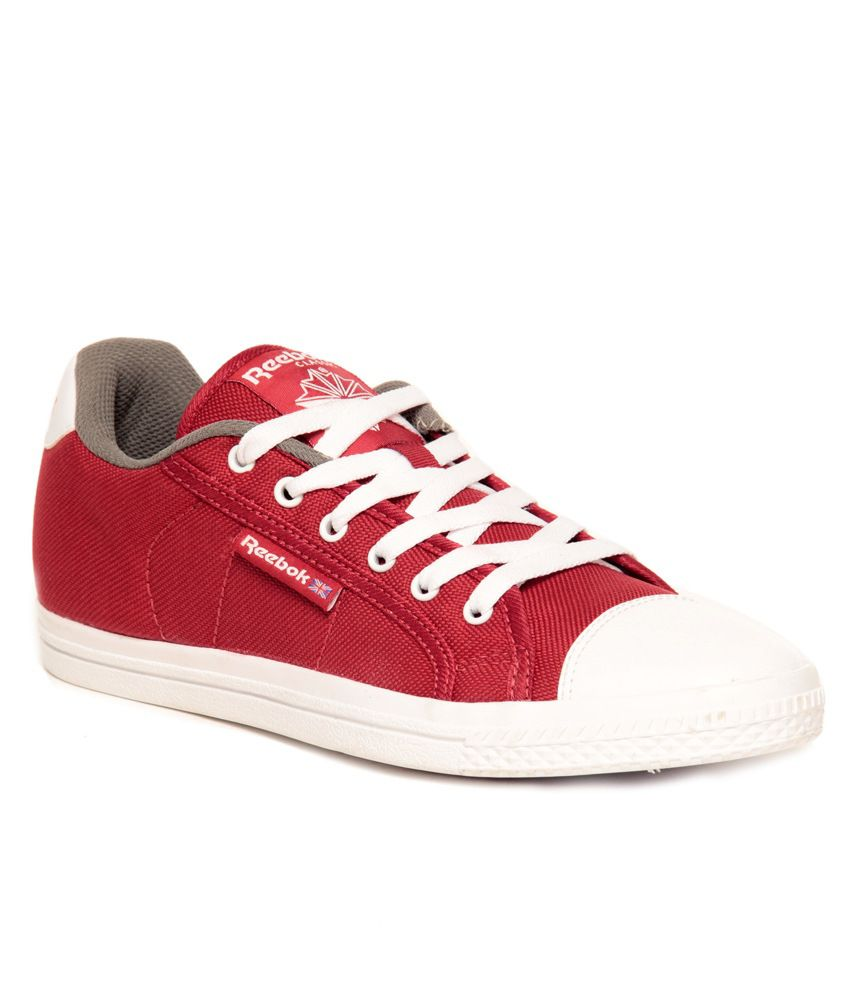 52b561a5f4f Reebok Red Canvas Shoes - Buy Reebok Red Canvas Shoes Online at Best Prices  in India on Snapdeal