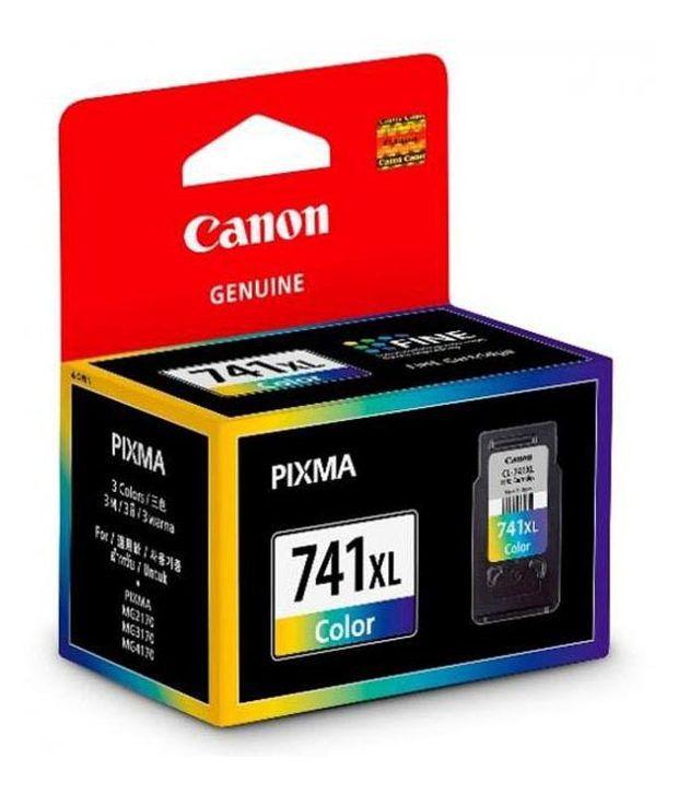 Canon Pg-741xl Colour Ink Cartridge