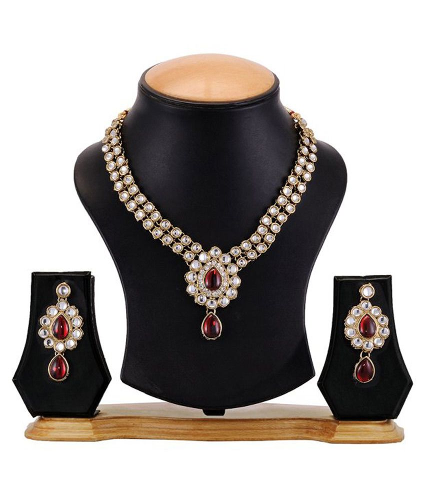 Aaradhya Pretty Alloy Necklace Set