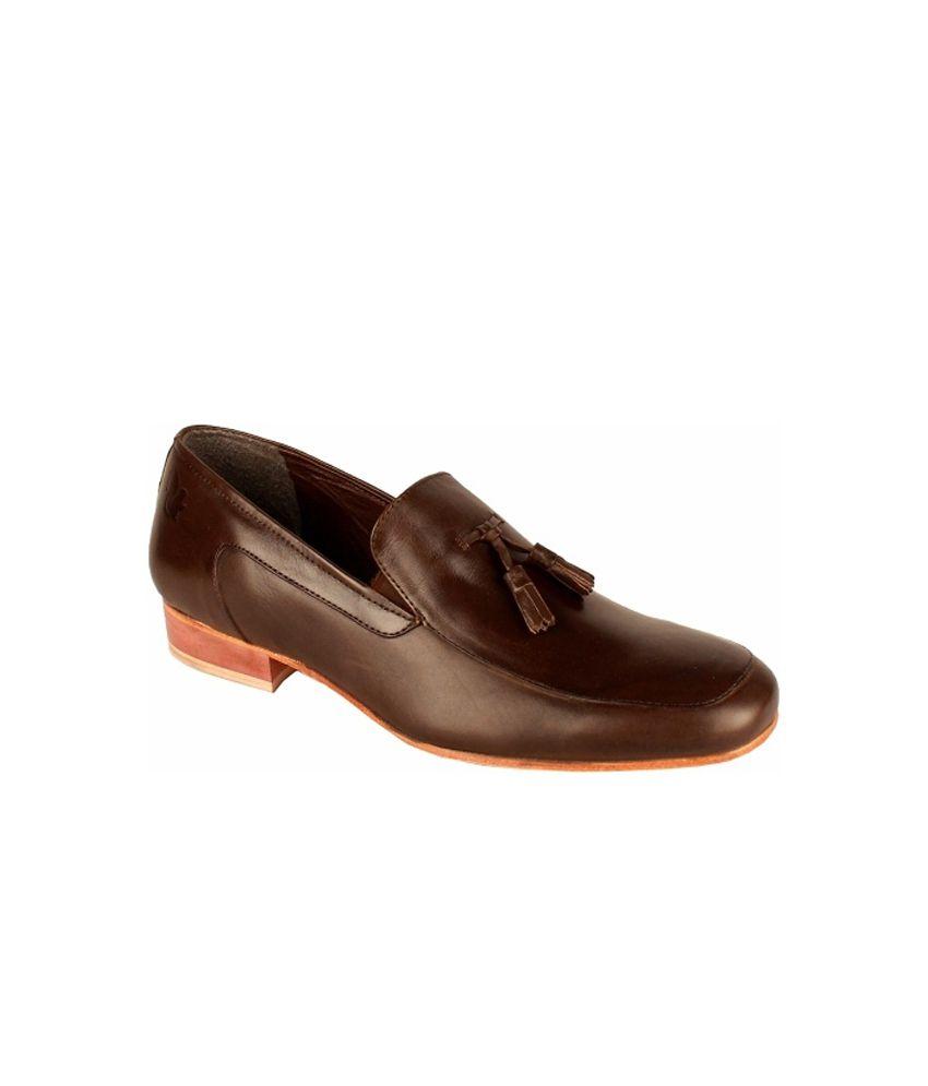 Salt N Pepper Brown Loafers