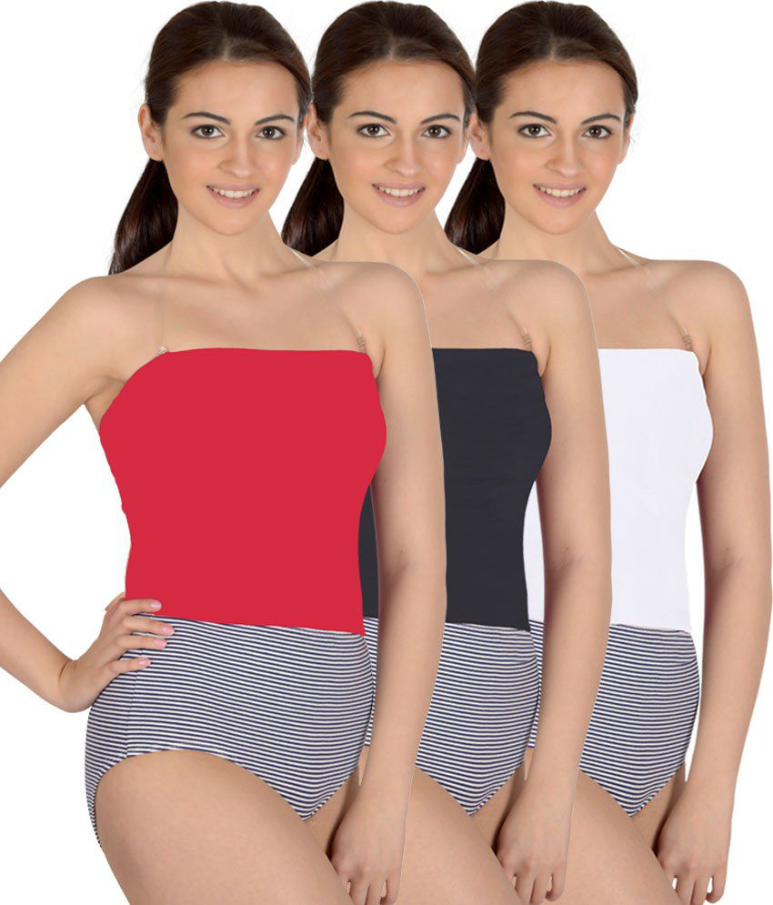 Selfcare Multi Color Camisoles Pack of 3