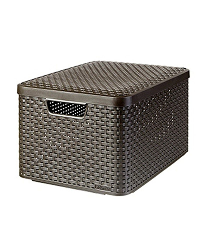 Curver Plastic Storage Basket Buy Online at Best Price in  : Curver Plastic Storage Basket SDL725391126 1 dbda3 from www.snapdeal.com size 850 x 995 jpeg 84kB