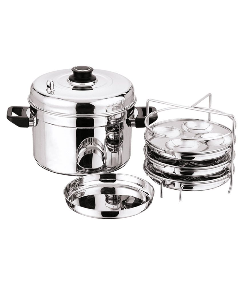 vinod stainless steel idli cooker buy online at best price in india rh snapdeal com