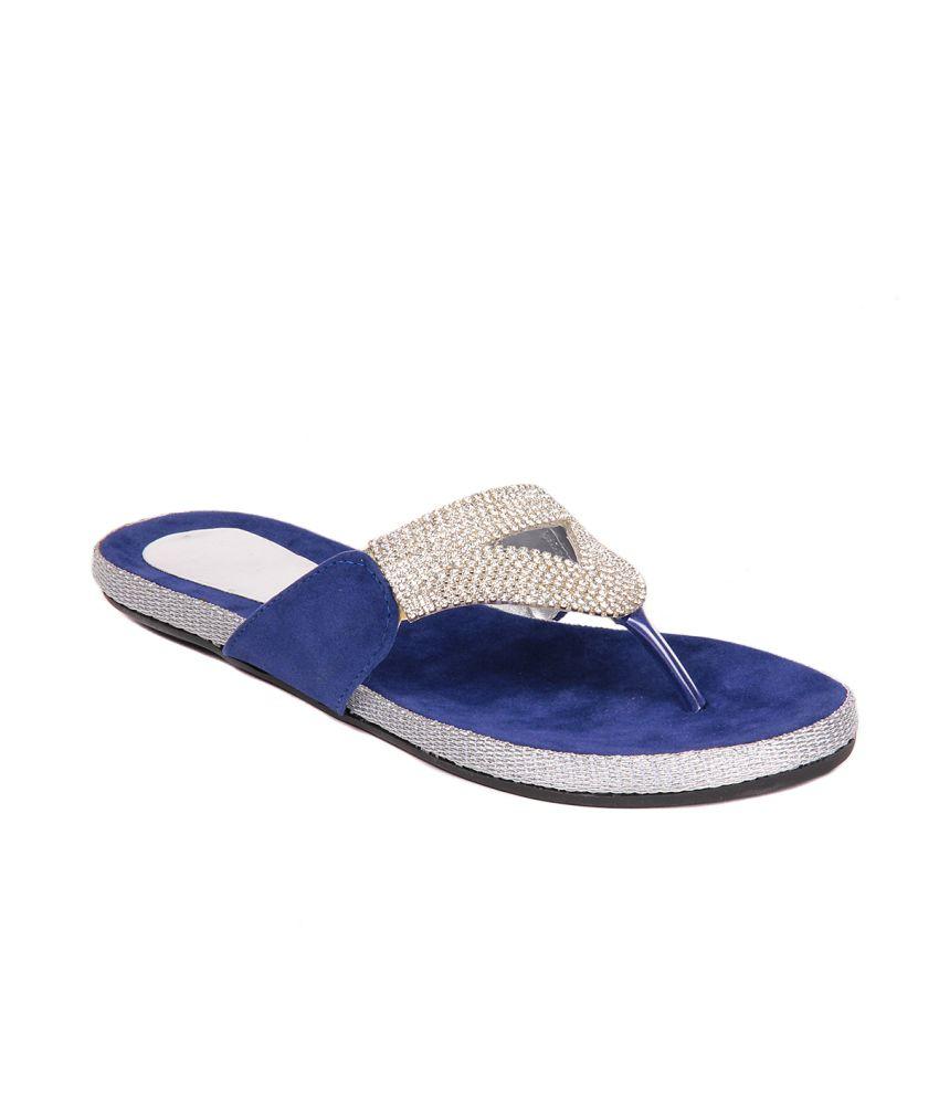 13bc2fb5d Do Bhai-shoebazaar Blue Flat Price in India- Buy Do Bhai-shoebazaar Blue  Flat Online at Snapdeal