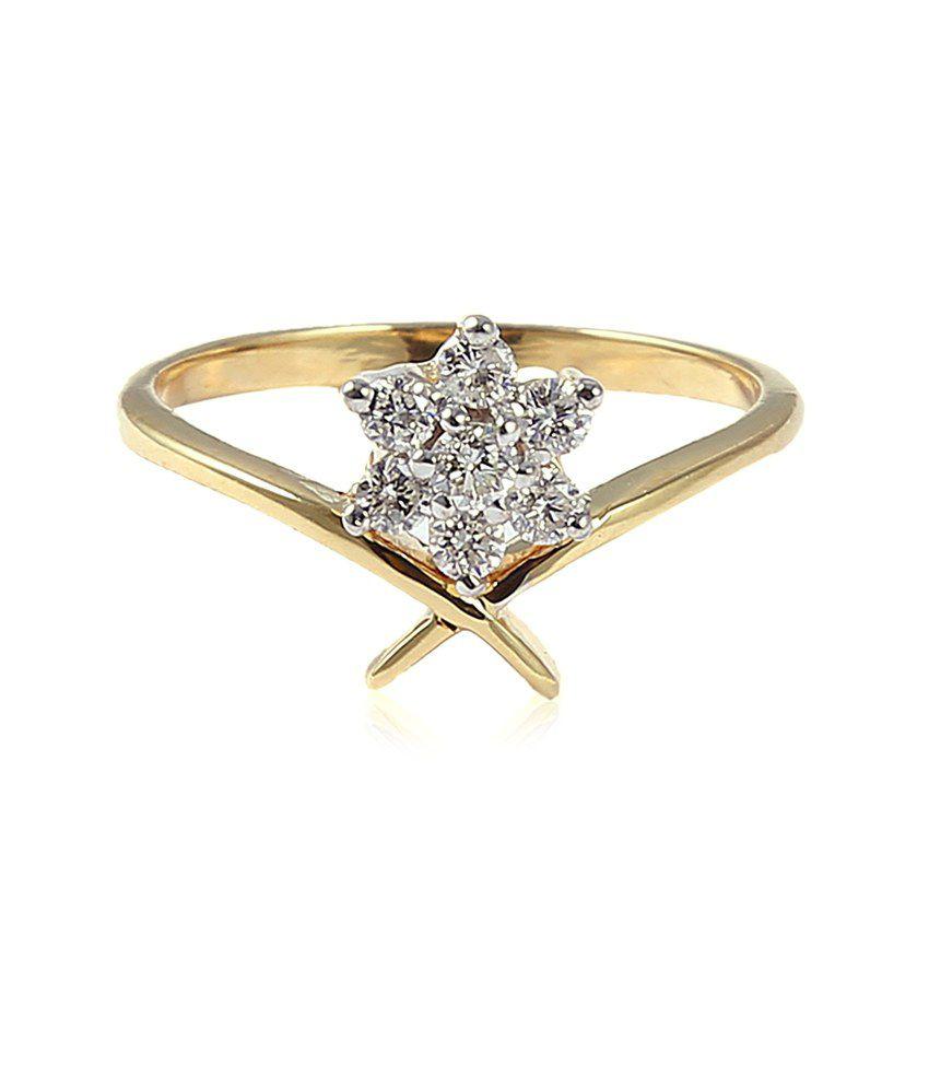 Jisha Designer 18kt Gold Diamond Ring