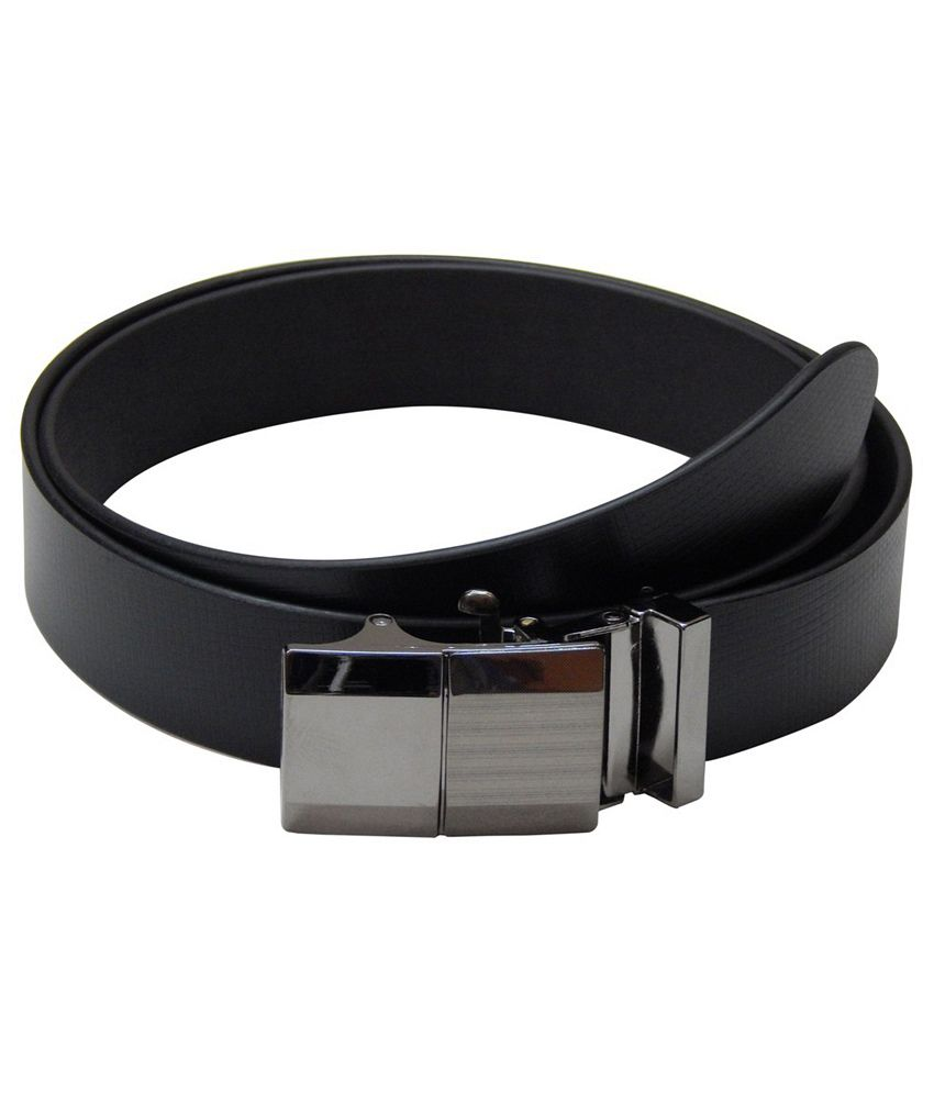 Navaksha Black Leather Belt