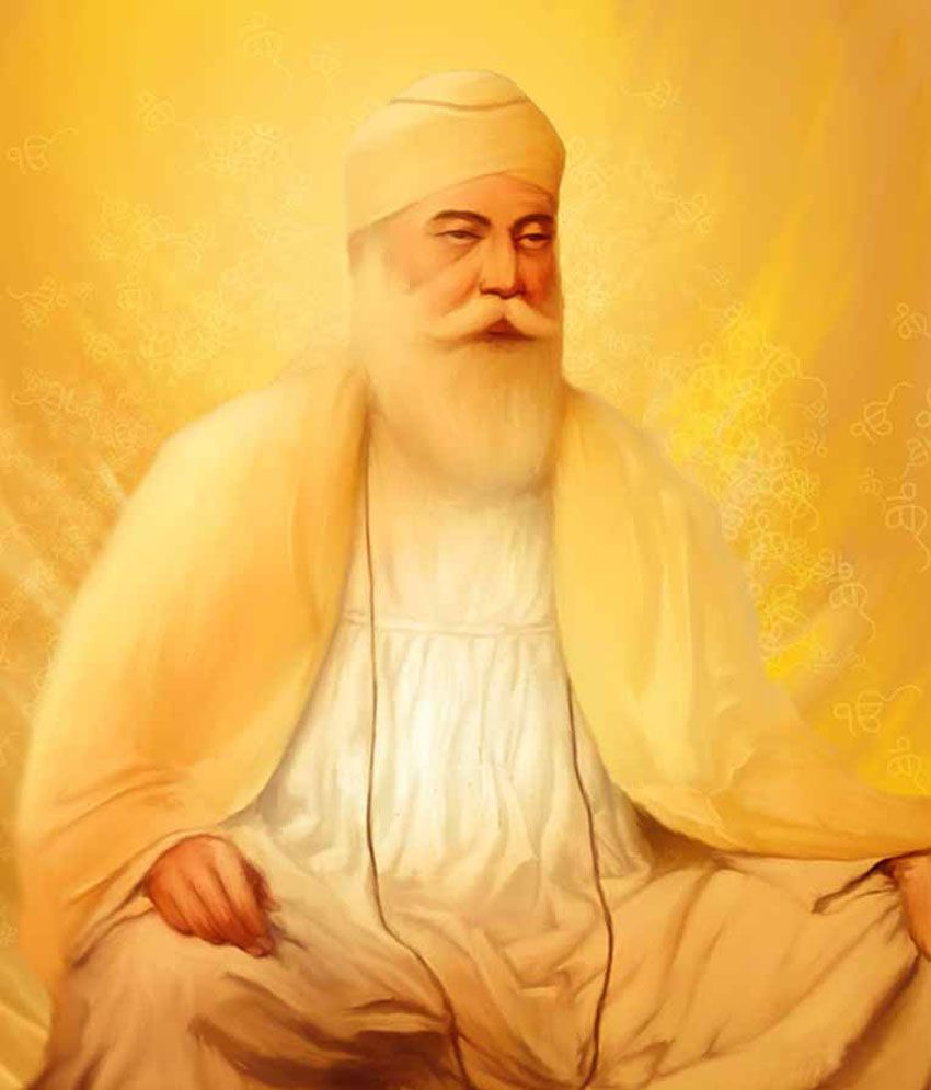 Image result for painting of Guru Nanak
