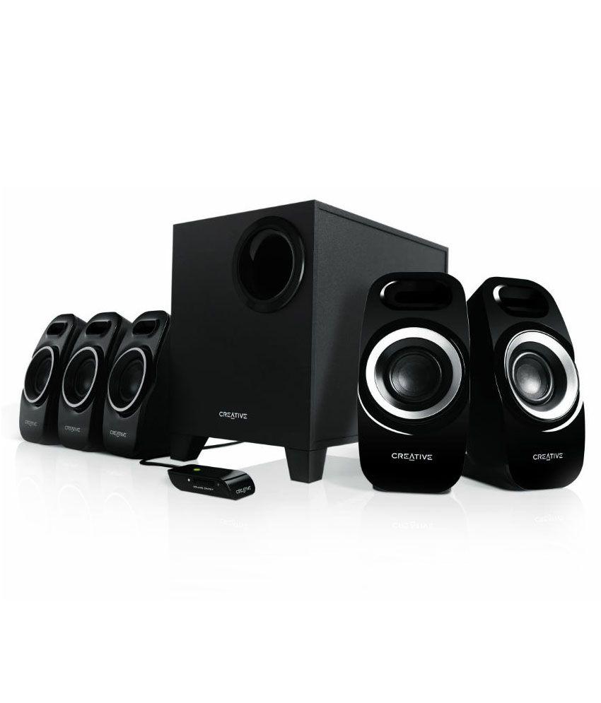 Elegant Home Gym Speakers