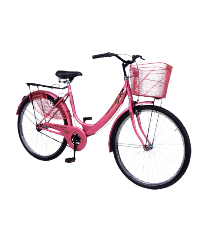 de378a1b1ca ... Hero Miss India Gold 26 Bicycle Pink Adult Bicycles/Women Bicycle ...