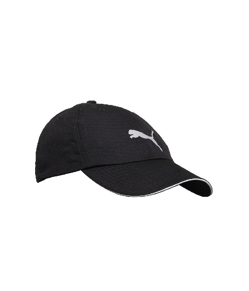 Puma Black Polyester Football Cap Men and women - Buy Online   Rs ... d51f79544ae