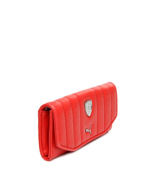4358e5da88 Buy Puma Red Wallet at Best Prices in India - Snapdeal