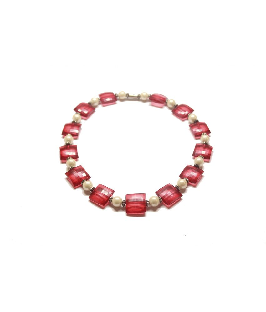 Spyra Red Designer Necklace