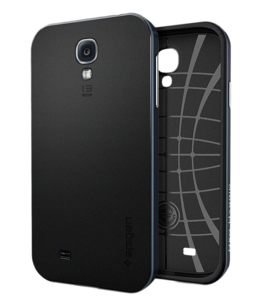 Notebook samsung galaxy s4 -  Spigen Samsung Galaxy S4 I9500 Case Cover Neo Hybrid Metal Slate Sgp10215