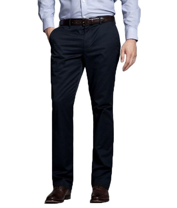 Inspire Clothing Inspiration Pack Of 2 Formal Trousers (Black & Blue)