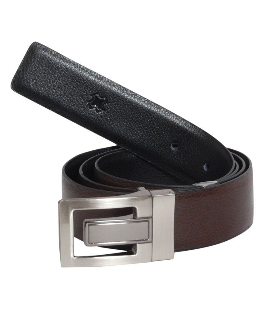 Hidea Multicolor Formal Reversible Belt For Men