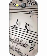 Printland Back Cover Case For Samsung Galaxy S3 - Multi Colour