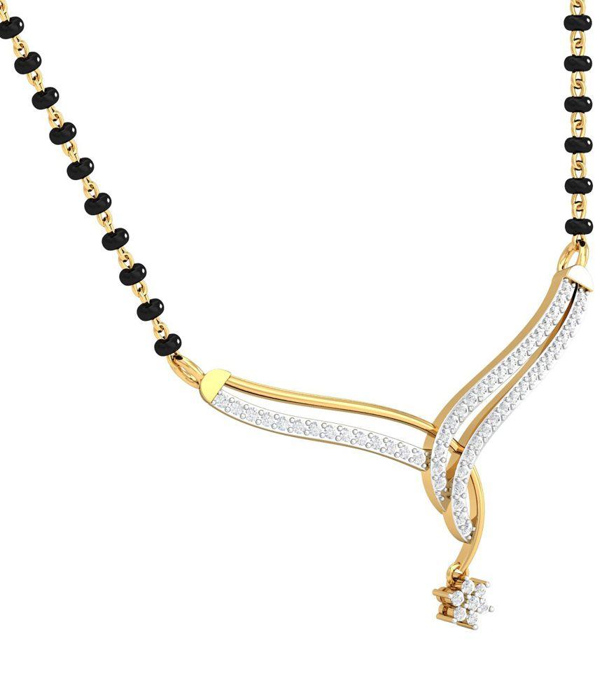 Kuberbox Gold Diamond Aestheticmangalsutra
