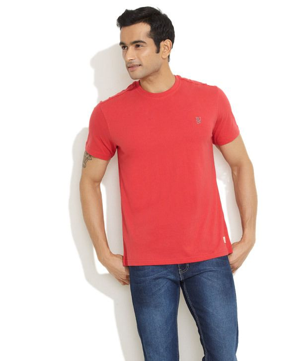 Riot Red Go Casual T-Shirt