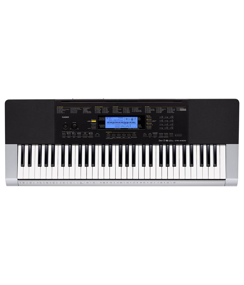 9ddc363b9c1 Buy Casio CTK-4400 Standard Keyboard - 61 Piano Style keys. Online at Best  Price in India on Snapdeal