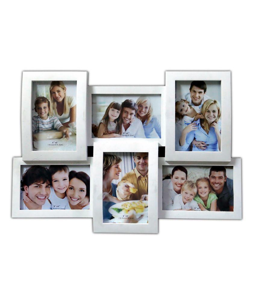 Gifthut Collage Family Photo Frame White 6x1 Buy
