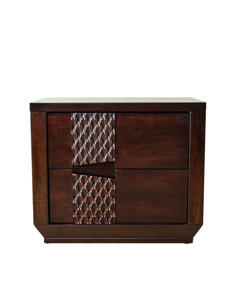 Hometown reeba solidwood night stand best price in india for Night stand cost