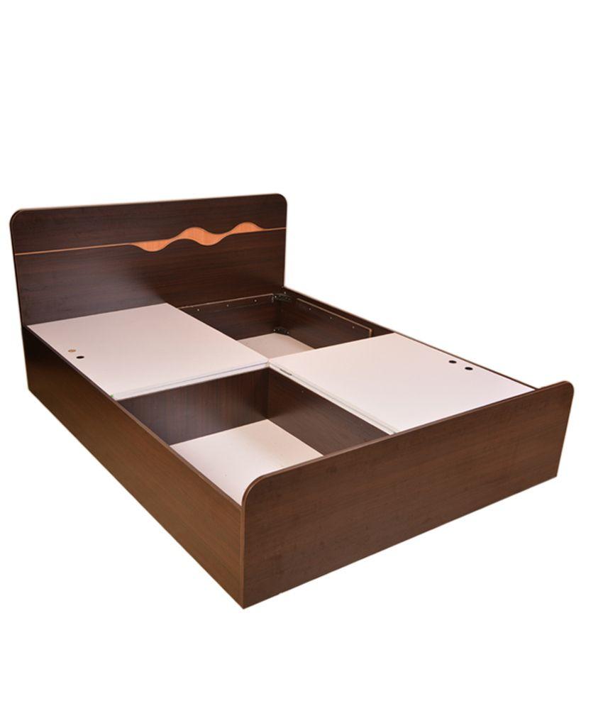 hometown queen size bed in brown with storage buy hometown queen