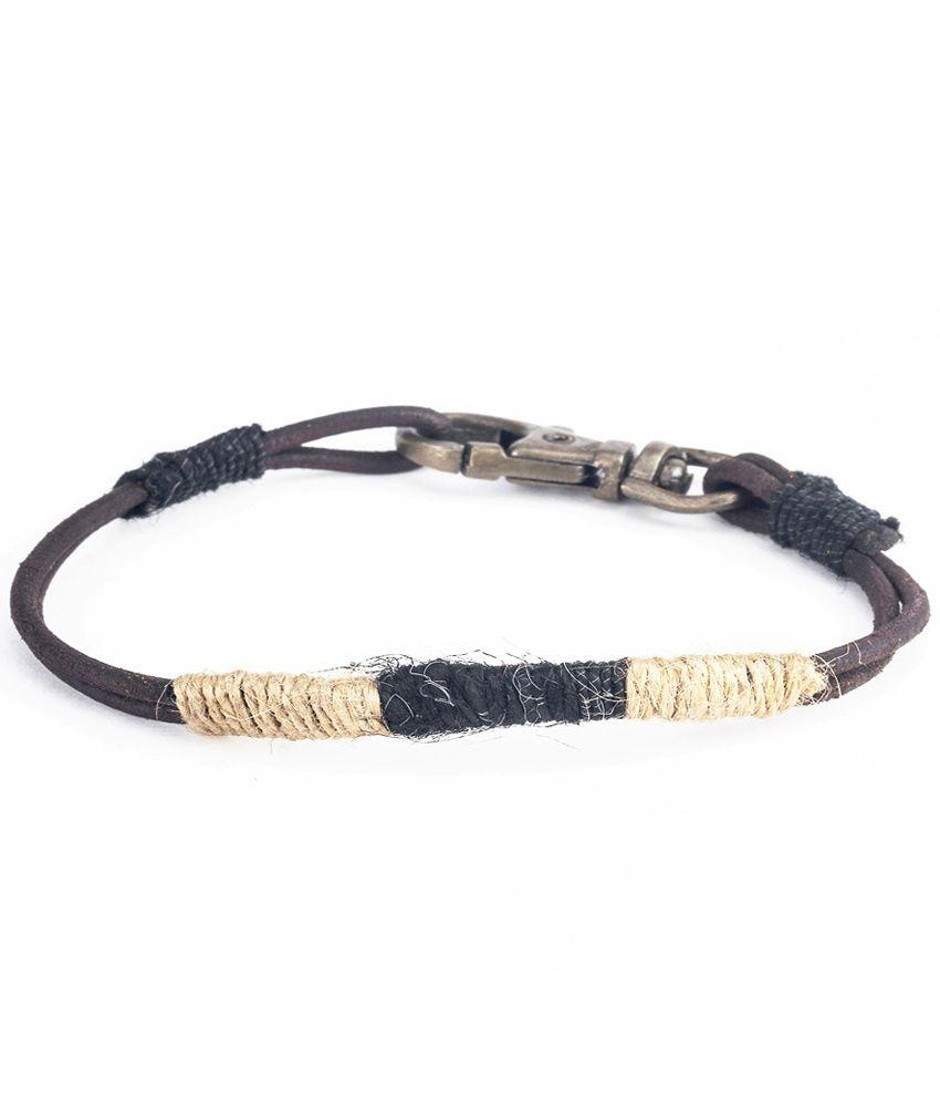 Fejour Jute Wrapped Bracelet