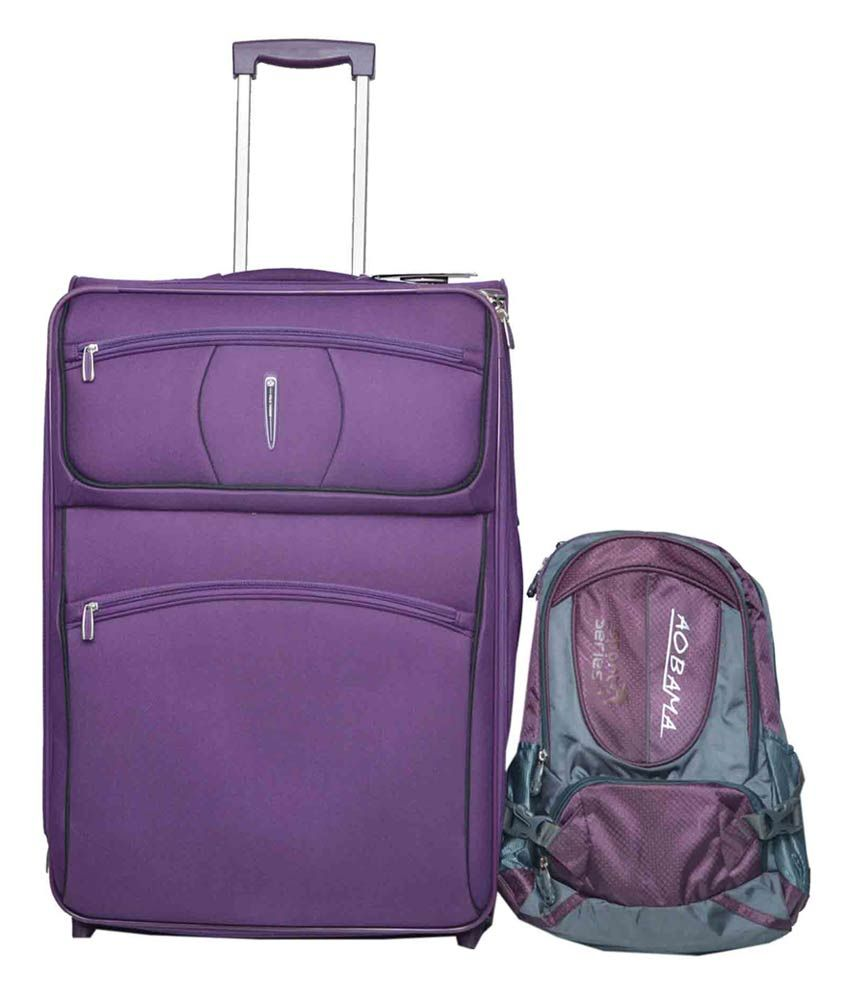 fff946ac773 Polo Fashion Purple Trolley Bag With Backpack - Buy Polo Fashion Purple Trolley  Bag With Backpack Online at Low Price - Snapdeal