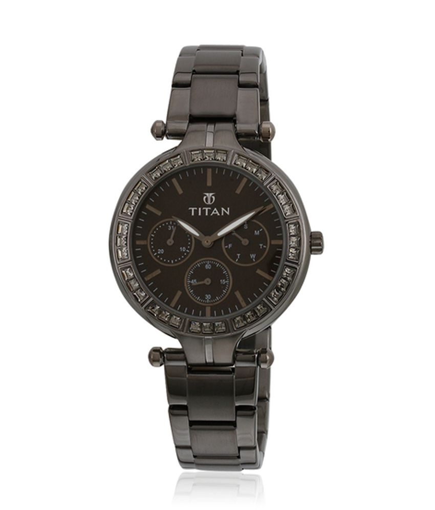 Titan Black Metal Strap Casual Watch Price in India  Buy Titan Black Metal  Strap Casual Watch Online at Snapdeal bb7ba062f