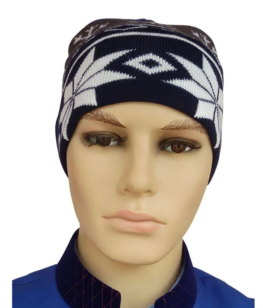 Zanky Designer Multicolor Woolen Cap