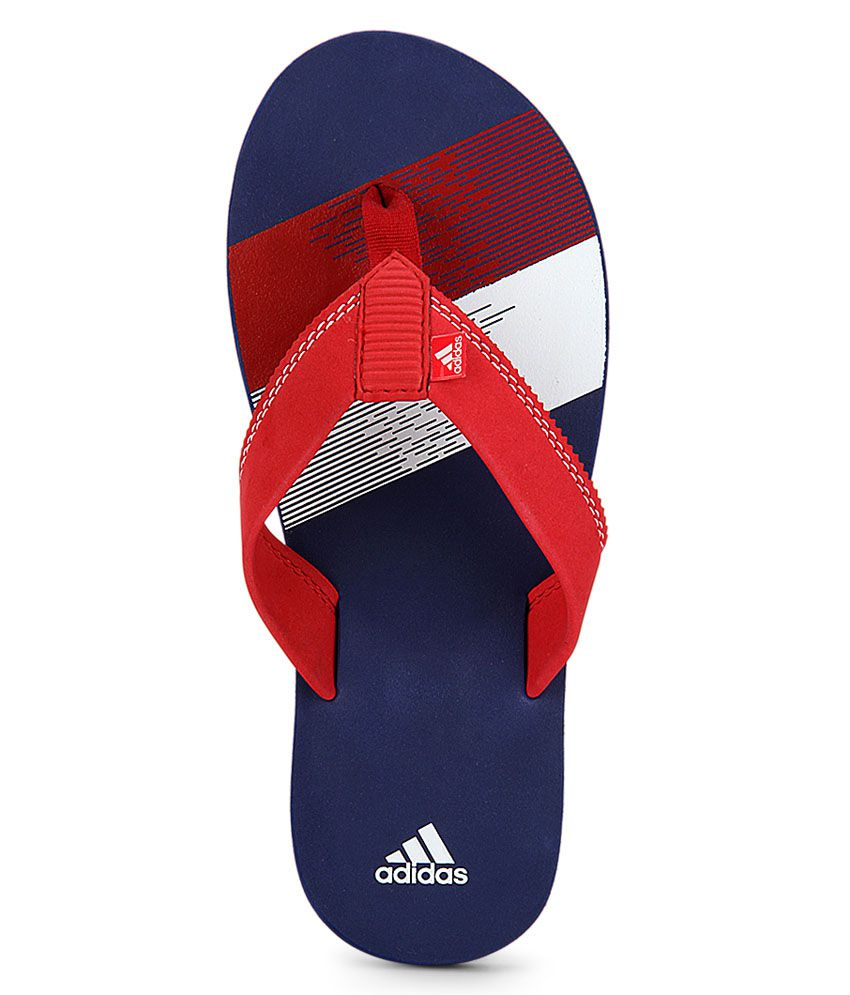 2deca2f97a397c Adidas Blue Chesil Flip Flop Price in India- Buy Adidas Blue Chesil ...